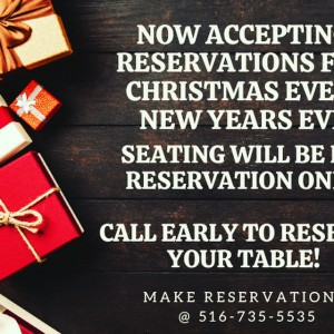reservation xmas